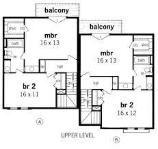 2 story house blueprints house 29521 blueprint details floor plans