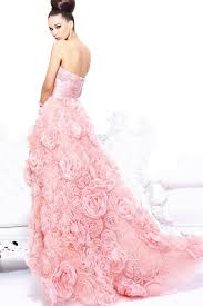 buy tailor made sweetheart high low pink 2014 prom dresses with