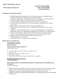 it support technician cover letter radiologic technologist cover letter sample job and resume template