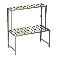 aluminum shelving system zobal usa aluminum furniture systems