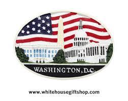 Washington Dc Flag Magnet The White House U S Capitol Monument U0026 Washington Dc