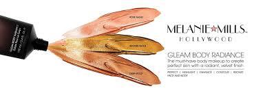 amazon com melanie mills hollywood moisturizing gleam body