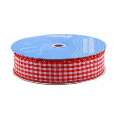 craft ribbon berwick wired edge picnic craft ribbon 1 1 2 inch by