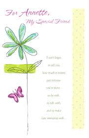 you u0027re a special friend greeting card happy birthday printable