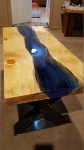 live edge river table epoxy check out this item in my etsy shop https www etsy com listing