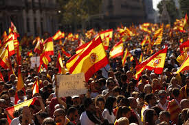 Flag Stakes Status Of High Stakes Spain Catalonia Standoff The New Indian Express