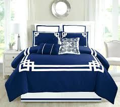 Navy Blue Bedding Set Navy Blue Comforter Chargersteve