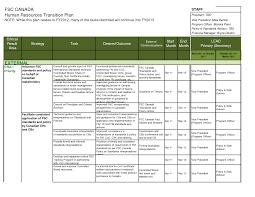 transition plan template cyberuse business development work ygx