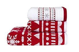 christmas towels kingsley alpine christmas bathroom towel bale bails come as 2