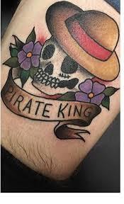 one piece tattoo picture got my one piece tattoo