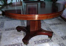 round mahogany dining table formal round mahogany dining table with four leaves