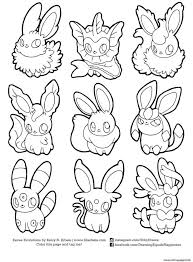coloring color print pokemon pictures pages images