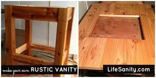 design your own vanity cabinet bathroom building a rustic bathroom vanity as well as rustic
