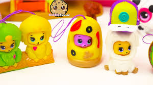 4 party animals bears in costumes shopkins season 3 blind bag
