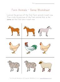 coloring pages view and print your farm animal same worksheet