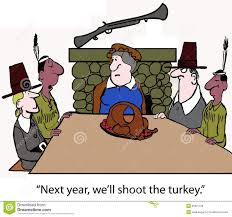 shoot the turkey stock illustration image of history 35921106