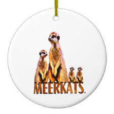 meerkats ornaments keepsake ornaments zazzle