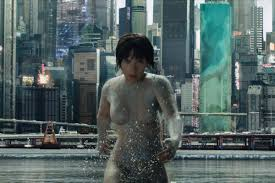 ghost in the shell review a solid film built on a broken