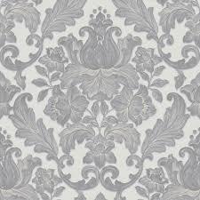 sirpi italian damask pattern wallpaper metallic leaf heavyweight 20573