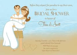 Couple Shower Invitations Beach Couple Shower Bridal Shower Invitation Printable 2260532