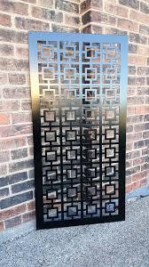 Sheet Metal Garden Art - best 25 metal garden fencing ideas on pinterest decorative