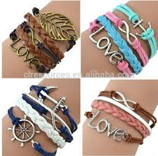 Popular Items For Love Anchors - mix infinity anchor rudder leather love owl charm handmade