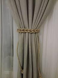 Curtain Tie Backs For Nursery Best 25 Diy Curtain Holdbacks Ideas On Pinterest Diy Curtain