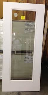 Flush Exterior Door Fiberglass 1 Lite Flush Glaze Exterior Back Door Www Windsonglife