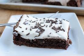 low syn squidgy chocolate brownie cake slimming eats slimming