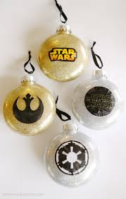 glitter wars ornaments