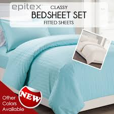 Best Cotton Sheet Brands Qoo10 Epitex Premium Bedsheets High Quality Bedsheets 100