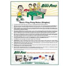 Table Tennis Doubles Rules Basic Rules Of Table Tennis Pdf Brokeasshome Com