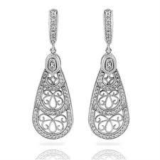 diamond earrings designs simon g 18k white gold diamond earrings designer engagement