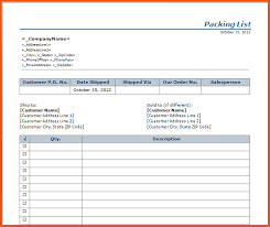 doc 706947 packing list format in word u2013 packinglisttemplatejpg