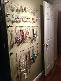 necklace organizer display images Jewelry holder necklace organizer display ideas wall homes jewelry jpg
