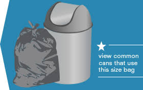 Gallon Small Trash Bags And Garbage Can Liners - Bathroom trash bags