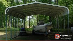Car Carport Canopy Two Car Carport 18 U0027 X 26 U0027 Shop Metal Carports Online