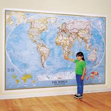 map mural wall map mural national geographic store