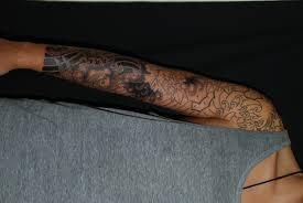 peony u0026 koi sleeve tattoo progress horimitsu