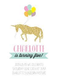 unicorn party invitations free stephenanuno com