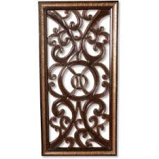 tangiers rustic wood scroll wall panel polyvore