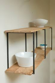 Barn Wood Shelves Beautiful Floating Shelves Made Of Reclaimed Wood