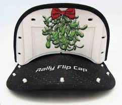 mistletoe hat mistletoe hat rally flip cap