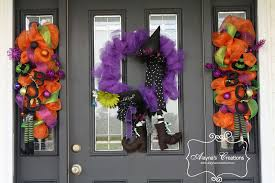 black feather wreath halloween front porch decorations archives diy home decor and crafts