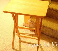 Tv Tray Table Tv Tray Table To End Table Hometalk