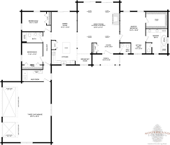 one bedroom log cabin plans mustang creek log home plan southland log homes house floor