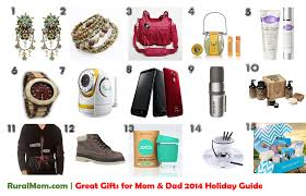 great gifts for mom u0026 dad rural mom 2014 holiday guide rural mom