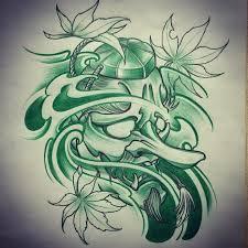 amsterdam tattoo 1825 kimihito tengu japanese style tattoo design