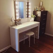 Diy Vanity Desk Furniture Diy Vanity Sit On The Floor Instead Of A No Tut Also