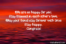 wedding message card we are so happy for you wedding card message